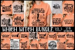 Which Witch Bundle - 24 Designs -Halloween SVG PNG EPS DXF Product Image 1