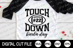 Football SVG, Touchdown SVG, Football Fan, Football Player Product Image 3