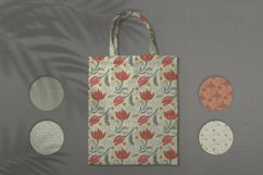 Floral seamless pattern. Swatches in eps 10, ai Product Image 6
