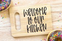 Web Font Wild Mushrooms - A Quirky Handlettered Font Product Image 3
