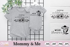 Mommy & Me Bundle SVG | Mama and Mini SVG Product Image 4