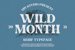 Wild Month-Serif Font Product Image 1