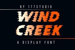 WIND CREEK Font Product Image 1