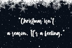 Web Font Winter Coming - Crhristmas Handletter Font Product Image 2