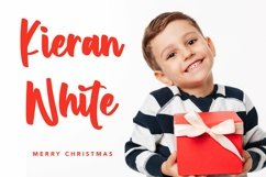 Web Font Winter Coming - Crhristmas Handletter Font Product Image 5