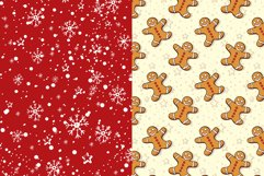 Cute Winter Christmas Seamless Patterns Collection Product Image 3