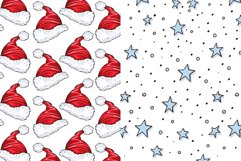 Cute Winter Christmas Seamless Patterns Collection Product Image 4