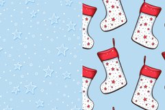 Cute Winter Christmas Seamless Patterns Collection Product Image 5