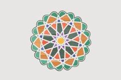 Winter Mandala Embroidery Product Image 2