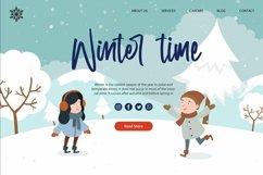 Web Font Winter Memories - Beauty Handwritten Font Product Image 2
