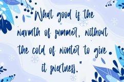 Web Font Winter Memories - Beauty Handwritten Font Product Image 3