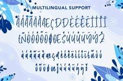 Web Font Winter Memories - Beauty Handwritten Font Product Image 6