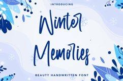Winter Memories - Beauty Handwritten Font Product Image 1