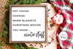 Winter Stuff SVG   Funny Christmas Design Product Image 1