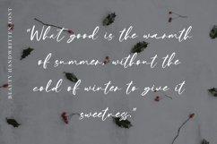 Winter Sweater - Beauty Handwritten Product Image 6