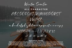 Winter Sweater - Beauty Handwritten Product Image 4