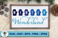Winter Wonderland SVG | Mittens SVG | Winter Printable Product Image 1