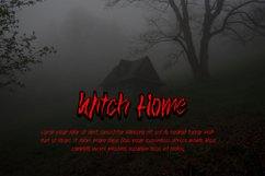 Witch Home - Halloween Font Product Image 6