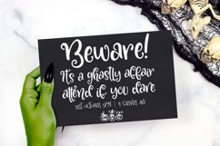 Something Wicked - a spooky script font! Product Image 3
