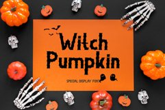Witch Pumpkin Product Image 1