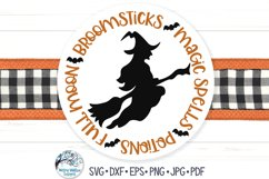 Round Fall SVG Bundle | Thanksgiving, Halloween, Autumn Product Image 5