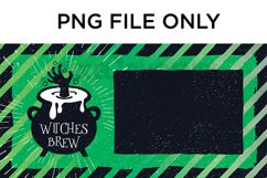 Witches Brew License Plate Sublimation for Halloween Product Image 2