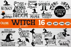 Halloween Witch Bundle SVG | Halloween SVG PNG DXF EPS Product Image 1