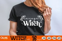 Halloween Witch Bundle SVG | Halloween SVG PNG DXF EPS Product Image 2