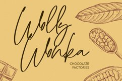 Wollyroots Signature Script Font Product Image 5