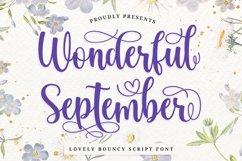 Love Swash Script Font - Wonderful September Product Image 1
