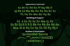 Web Font Woodshine Font Product Image 5