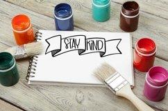 Web Font Word Art Doodles - a Doodle Dingbat Font Product Image 4