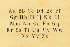 Worn Font - Múltiliñgüâl Suppørt Inspired by Old Typewriter Product Image 2