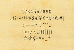 Worn Font - Múltiliñgüâl Suppørt Inspired by Old Typewriter Product Image 3