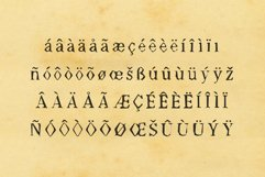 Worn Font - Múltiliñgüâl Suppørt Inspired by Old Typewriter Product Image 4