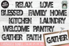 Home Sign SVG Bundle, Home SVG Cut File, Farmhouse Sign SVG Product Image 1