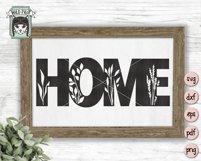 Home Sign SVG Bundle, Home SVG Cut File, Farmhouse Sign SVG Product Image 4