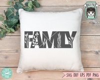 Family SVG Cut File, Home Sign SVG File, Farmhouse Sign SVG Product Image 2