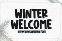 Winter Welcome - Fun Handwritten Font Product Image 1