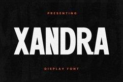 Web Font Xandra Product Image 1