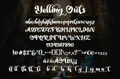 Web Font Yelling Outs - Boldy Handwriting Script Font Product Image 4