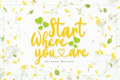 Yellow Bunny - Heart Font Product Image 2