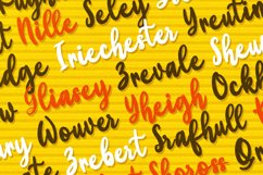 Yellow Bunny - Heart Font Product Image 3