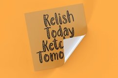Web Font Yellow Mustard - Handlettering Font Product Image 3