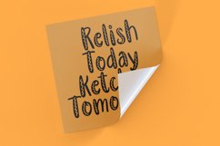 Yellow Mustard - Handlettering Font Product Image 5