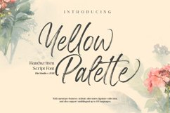 Yellow Palette Product Image 1
