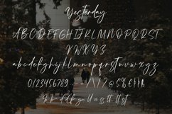 Yesterday - Beauty Calligraphy Font Product Image 2