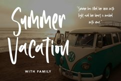 Web Font Youngest Brother - Summer Display Font Product Image 3