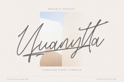 Yuanytta Signature Script Product Image 1