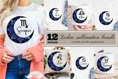 Zodiac sublimation bundle, sublimation zodiac signs Product Image 1